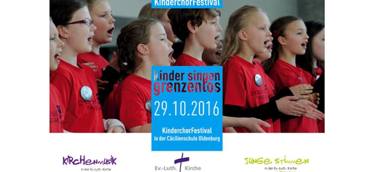 Wir haben am Kinderchorfestival in Oldenburg teilgenommen.